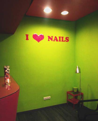 I Love Nails Pedicura