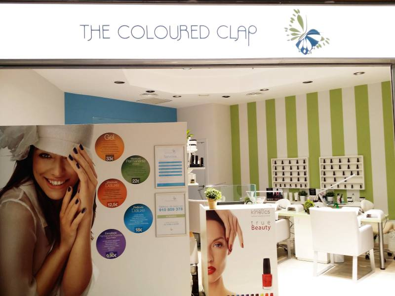 The Coloured Clap Uñas Postizas
